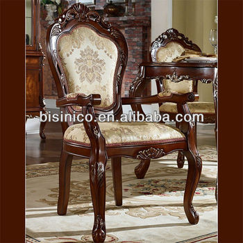 New Classical American Style Dining Chair Luxury Single Chair Size