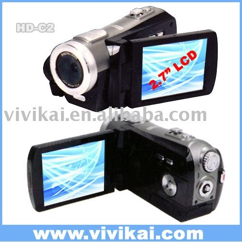 "profesyonel HD video kamera / dijital video / dijital kamera kamera ile 2.7 ""LCD"
