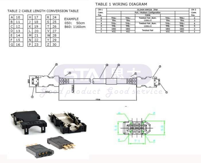 hdmi 6 p molex 55100-0670 mdr nam nối ieee 1394