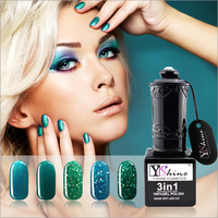 2017 new products 2 step nail gel polish, Soak Off Nail Gel LED/UV