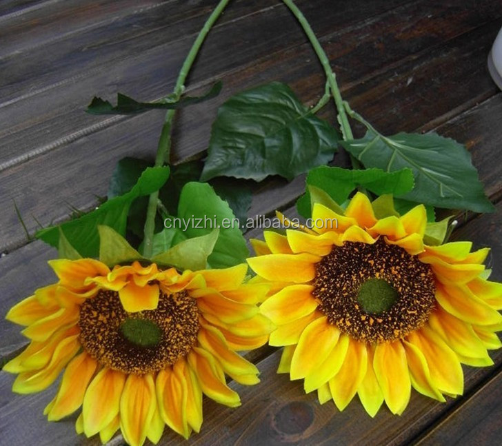 artificial silk sunflowers real touch artificial flower buy