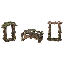 Resina di <span class=keywords><strong>Legno</strong></span> Vite Mini Garden Kit Outdoor Accento <span class=keywords><strong>Figurine</strong></span>