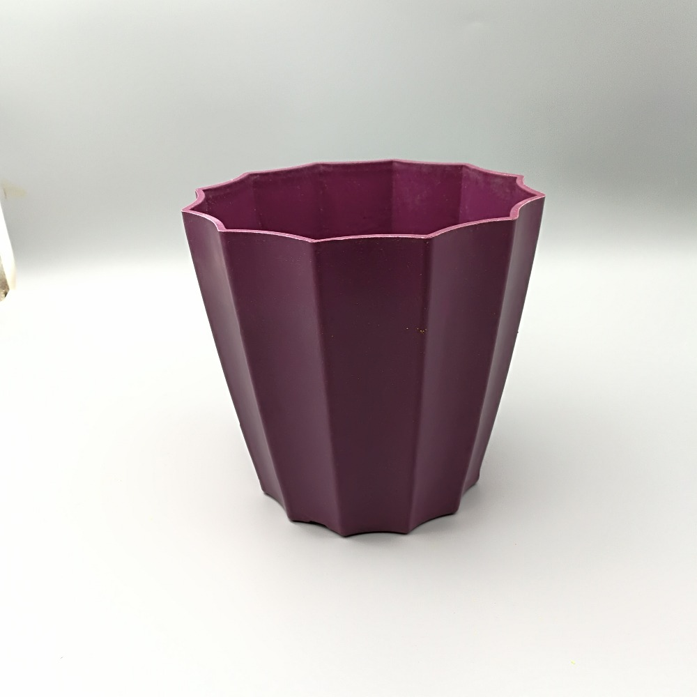Low Price Plastic Melamine Bamboo Fiber Flower Pot