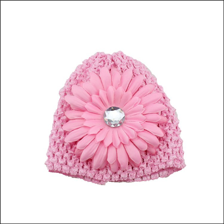 china supplier custom brand name handmade crochet baby boy beanie hat