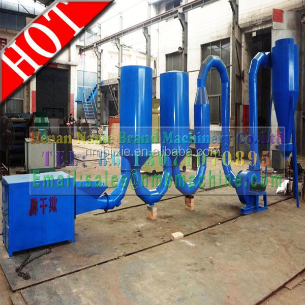 CE newest type hot air flow charcoal/briquette drying machine