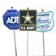 high quality collapsible Any Logo traffic signal high quality warning sign