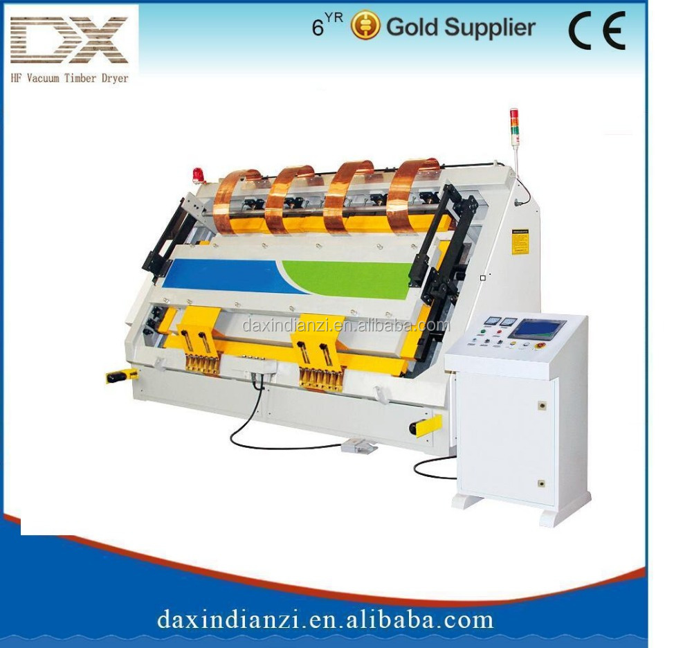 High freqency board jointing frame assembly machine
