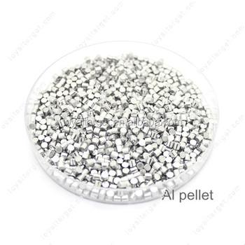 aluminum pellets