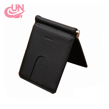 25a3309d938a Black Mens Leather Bifold Id Credit Card Holder Purse Billfold Wallet Money  Clip - Buy Id Credit Card Holder Purse,Men's Purse,Leather Purse Product ...