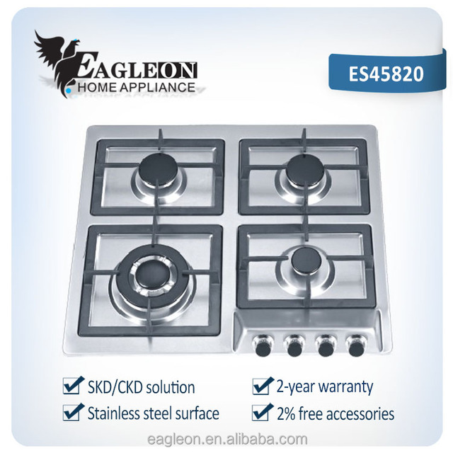 Wonderful Italian Kitchen Appliances Burner Gas Cooker With CE, Four Burner