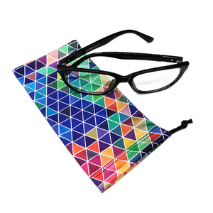 Digital printing microfiber small eyeglass pouches
