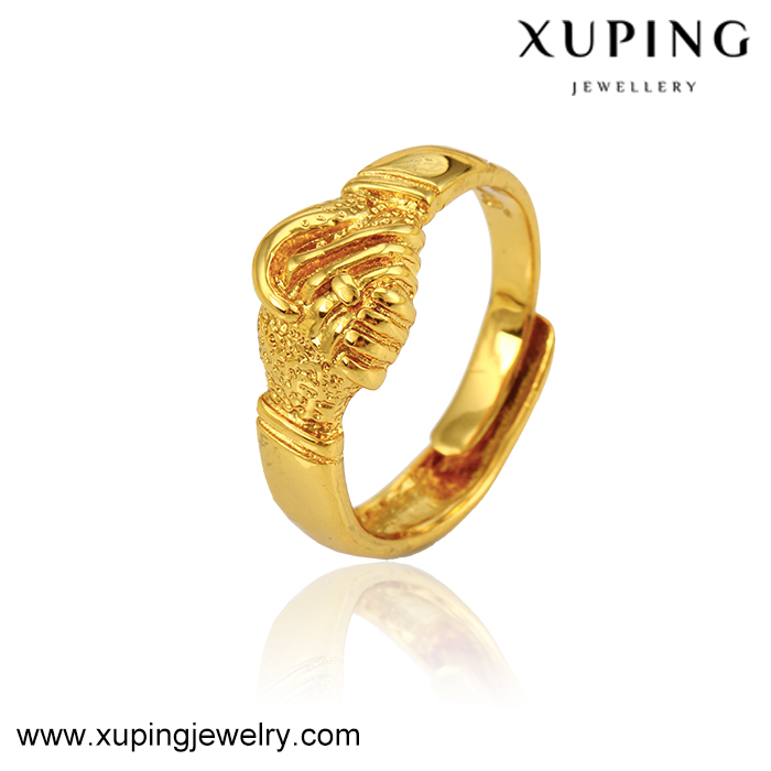 11869 xuping 24k saudi gold <strong>jewelry</strong>, wedding <strong>jewelry</strong> women ring