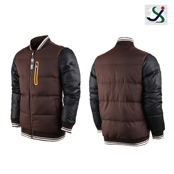 JS5807 cotton paded men's jacket 2017