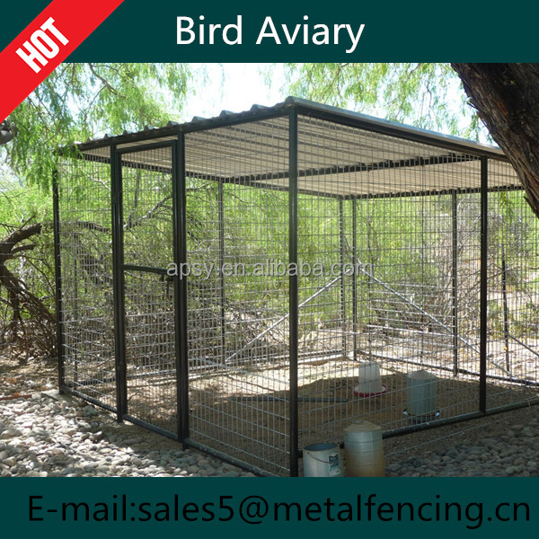 China Outdoor Wire Mesh Bird Aviaries For Sale