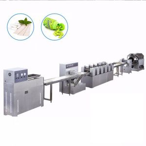 Chewing gum making machine chewing gum manufacturing machine