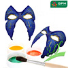 mardi gras eye mask BLACK LACE & SILVER VENETIAN MASQUERADE CARNIVAL PARTY MASK WITH PaperS