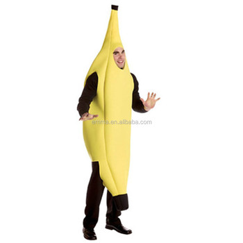 Banana Fancy Dress Costume Outfit Funny Comedy Hen Stag Party Bmg 2167
