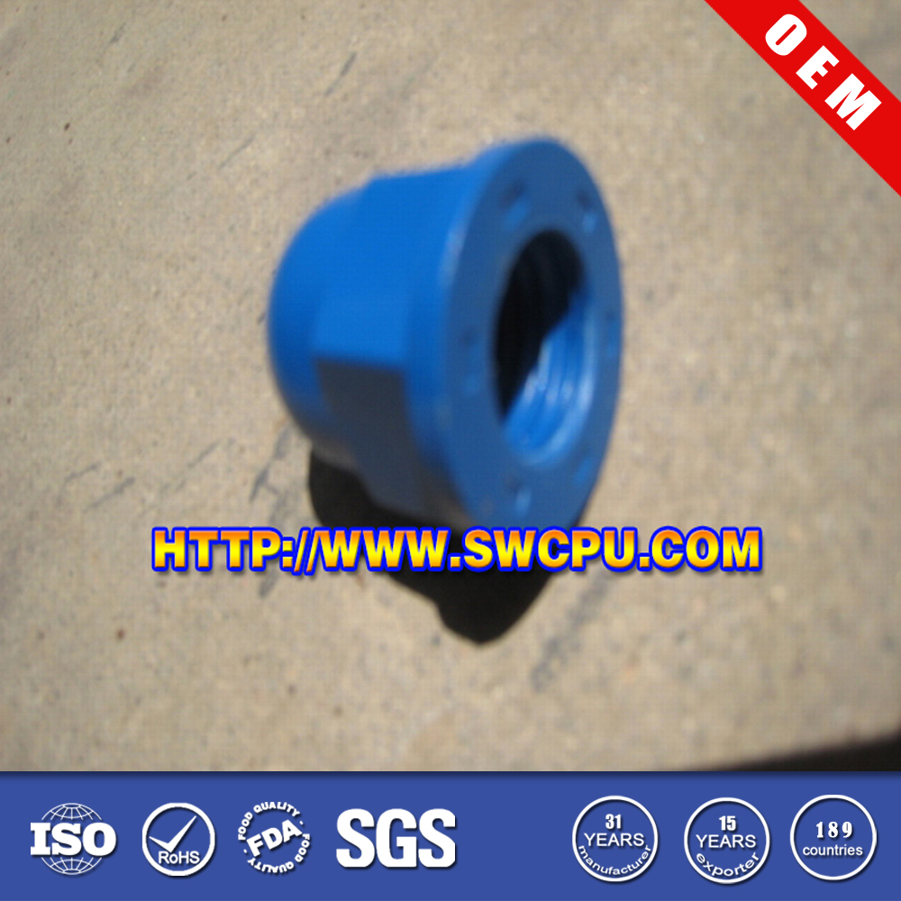 Blue thin rubber stopper washer