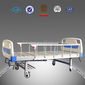 best selling metal hospital bed with double crank