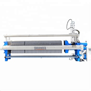Automatic Membrane Press Filter For Coal Washing