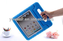 4Color Kids Eva Foam Handle Shockproof Stand Case Cover For iPad Mini iPad 2 3 4