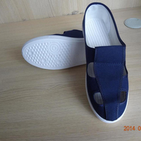 Distributor Wanted Cheap Vietnam ESD Antistatic Shoes With PVC Sole Fabric Upper