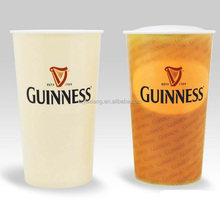 promotional plastic color changing cup with temperature sensitive IML