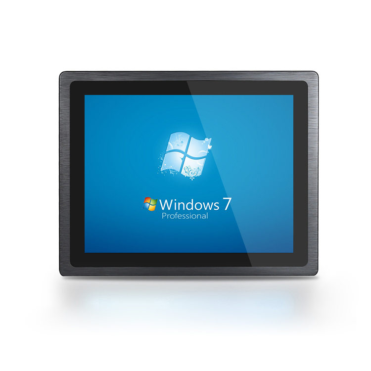 Fanless Waterproof Inter J1900 Industrial All In One Capacitive Touch Screen  10.1 inch Tablet Panel PC
