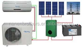 500 w panel solar de montaje en aire acondicionado para