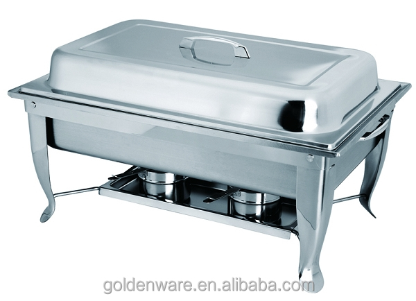 Golden Ware GW-JQ533 9L Made In China Customized hotel buffet chafing serving dish