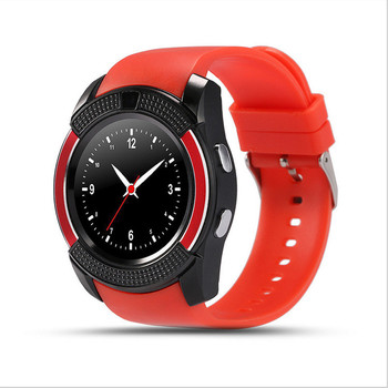 2016 Hot Sale MTK6261 Bluetooth 3.0 Android Smart Watch V8 Support Sim Card smart watch firmware download