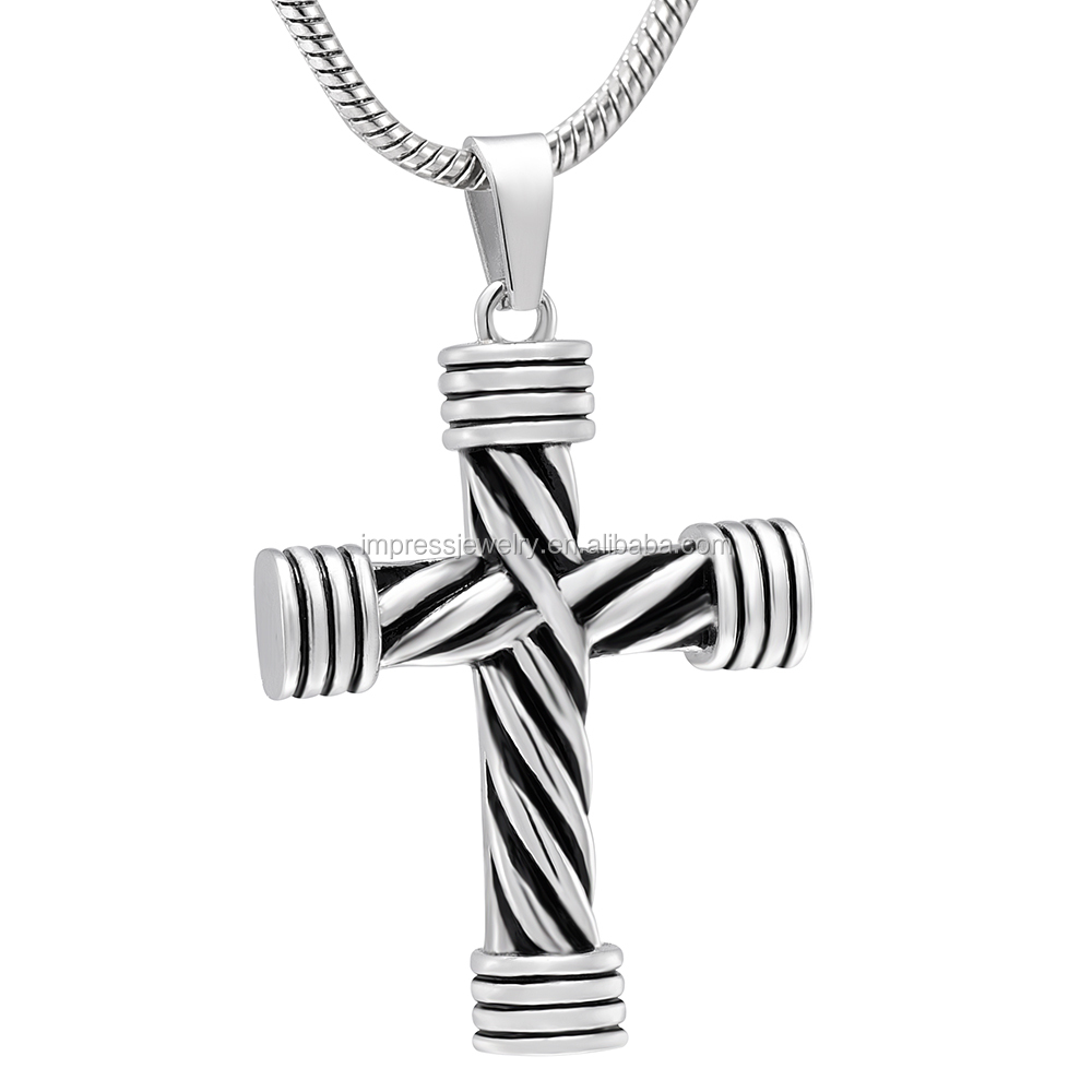 christianity cross necklace bling lightweight jewelry az pendant grw keepsake sterling silver p cremation neckalce