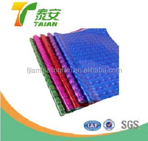 PET holographic film for packaging printing