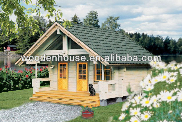 Beautiful Small Wooden House Design Prefabricated Low Cost Prefab Product On Alibaba