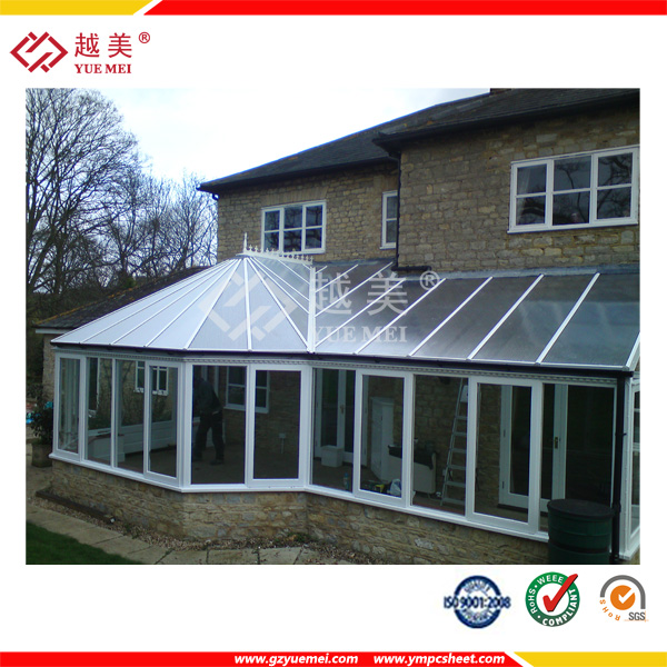 UV Protected Polycarbonate Hollow Sheet for roofing , plastic panel, panel solar