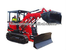 YTO big crawler tractor c1402 with 4 in 1 loader