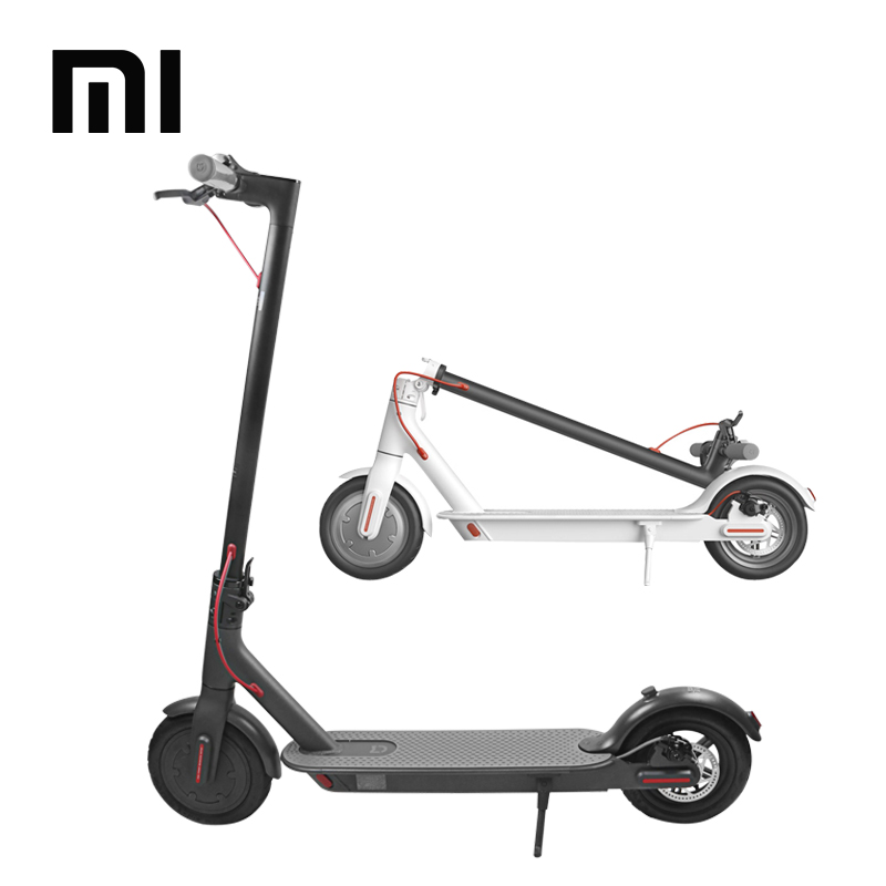 Alibaba.com / Original 8.5inch xiaomi electric scooter with air tire/adult two wheels electric scooter /350W xiaomi Electric foot kick scooter