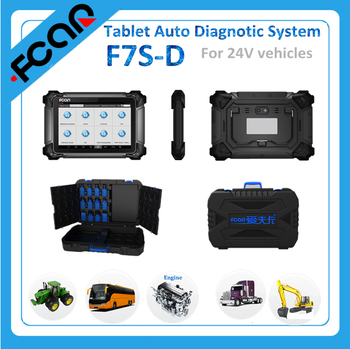 car diagnostic tool F7S-D tablet auto diagnostic system with WIFI and bluetooth