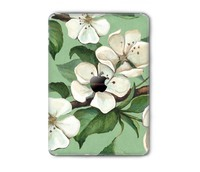 wholesale 3m reusable removable vinyl sticker flower pattern print films for iPad back protective wraps skins