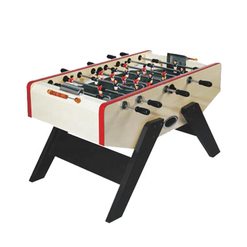 Customized MDF Soccer Table Sports Foosball Game Table With Adjustable Feet