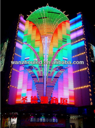 Relatively low cost!!!!FULL COLOR P10 led scoreboard display from wanzhou
