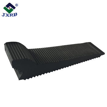 Wholesale factory outlet high quality small stops glass rubber door wedge