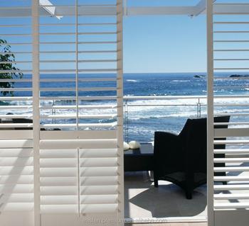 European exterior aluminum plantation shutter for window - European exterior window shutters ...