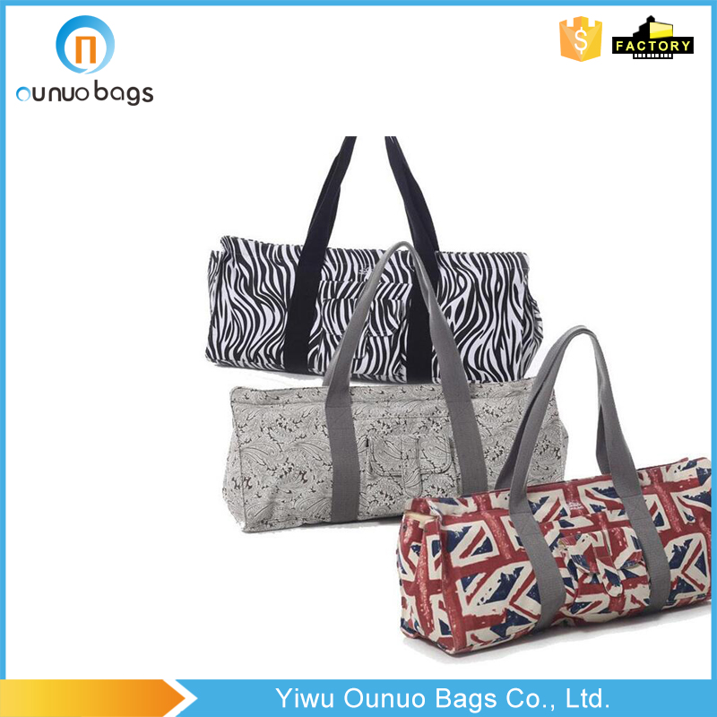 Newest selling OEM design yoga carry bag yoga mat tote bag in many style