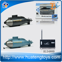 New remote control toys 6 ch Mini double propellers boat rc submarine for sale
