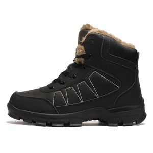 Hiking Shoes Climbing Boot Waterproof Men Leather Shoes Winter