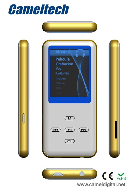 MP4 Player with FM Radio and Touch Control Button Java MP4 Player Download