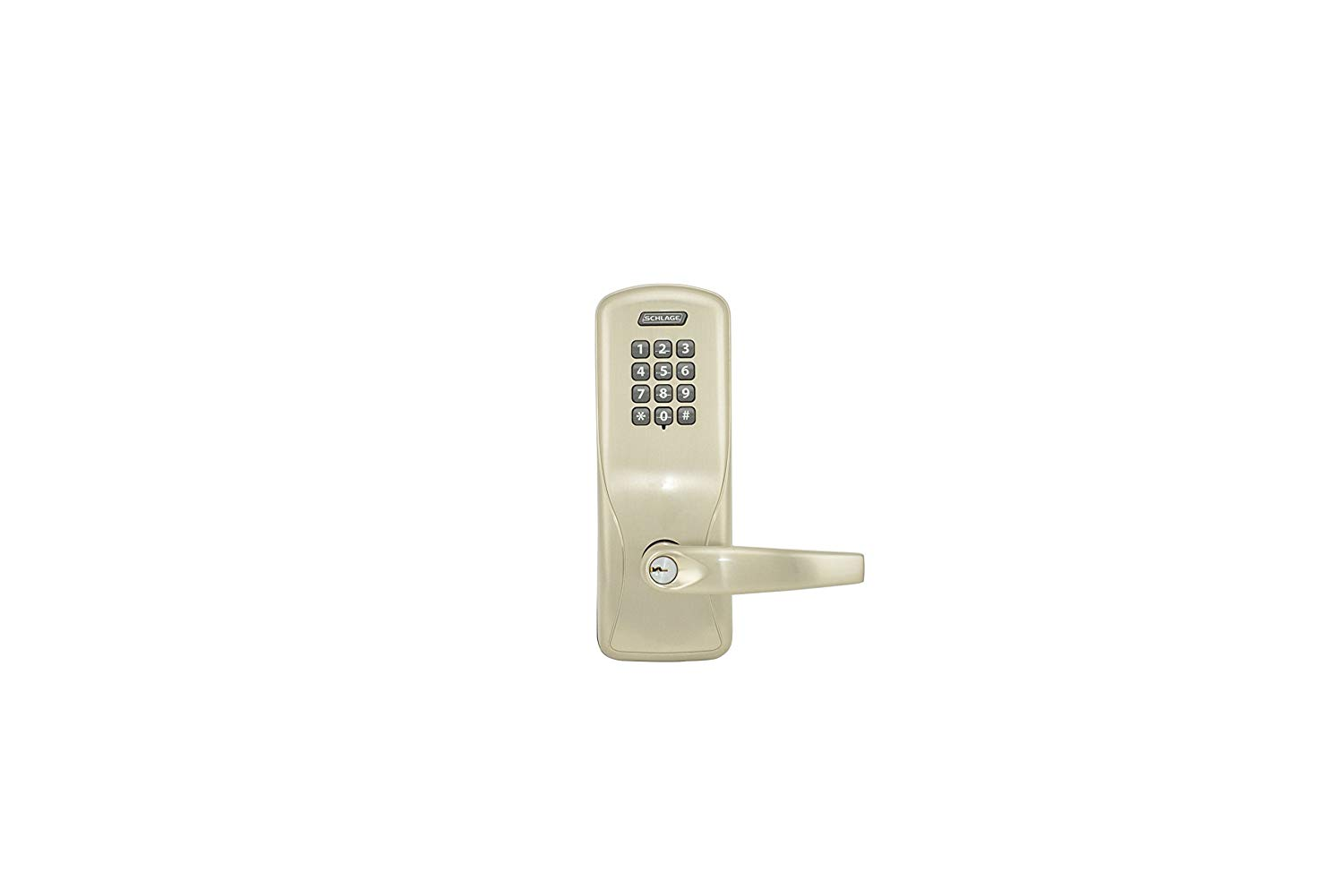 Schlage CO100 CY70KP ATH 626JD Electronics Security Lock Athens for 13049 10025 Less Schlage FSIC Cylinder