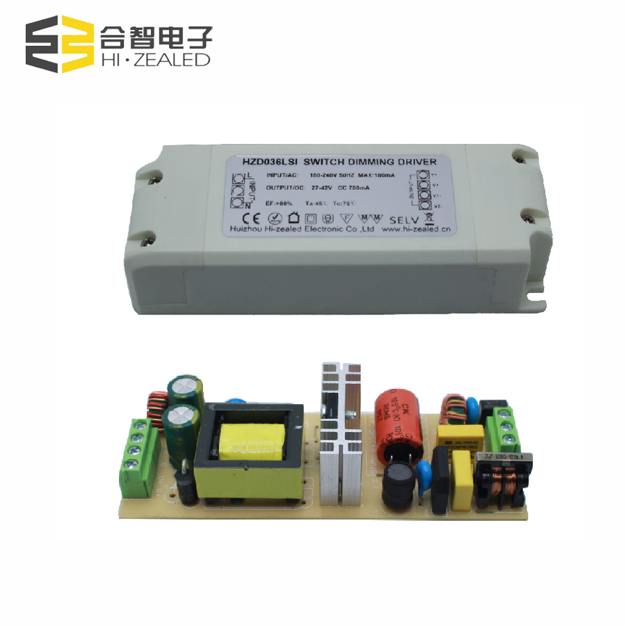 220v 36v transformer constant current dimmer led driver 700ma 30W indoor led driver