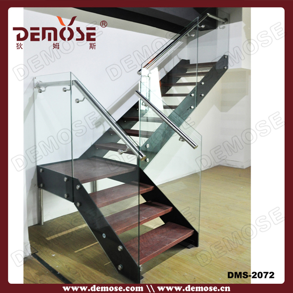 Staircase Types/new Staircase Cost/metal Stairs With Glass Steps